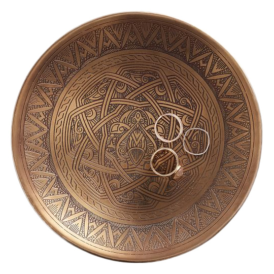 Global Trinket Tray, Pottery Barn