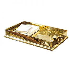 Harlow Brass Tray, Ballard Designs