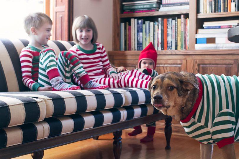 Christmas Murray with the Kids