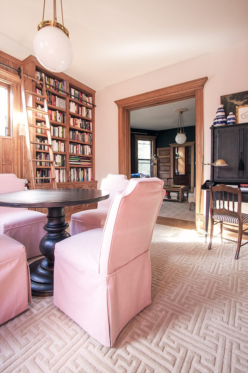 Library, Looking Toward Living Room (Double Parlor)