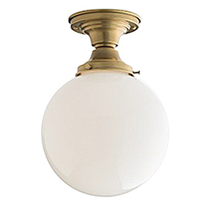 "Otis 4"" Fixture with Globe Light, Schoolhouse Electric"
