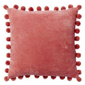 Pom-Pom Pink Pillow