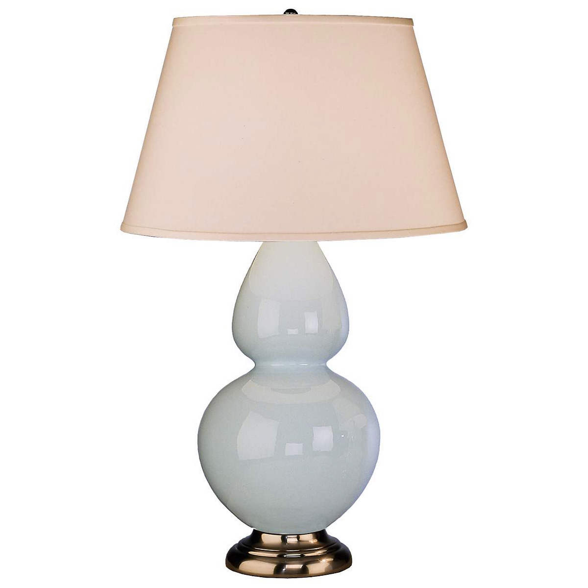 Robert Abbey Double Gourd Ceramic Table Lamp