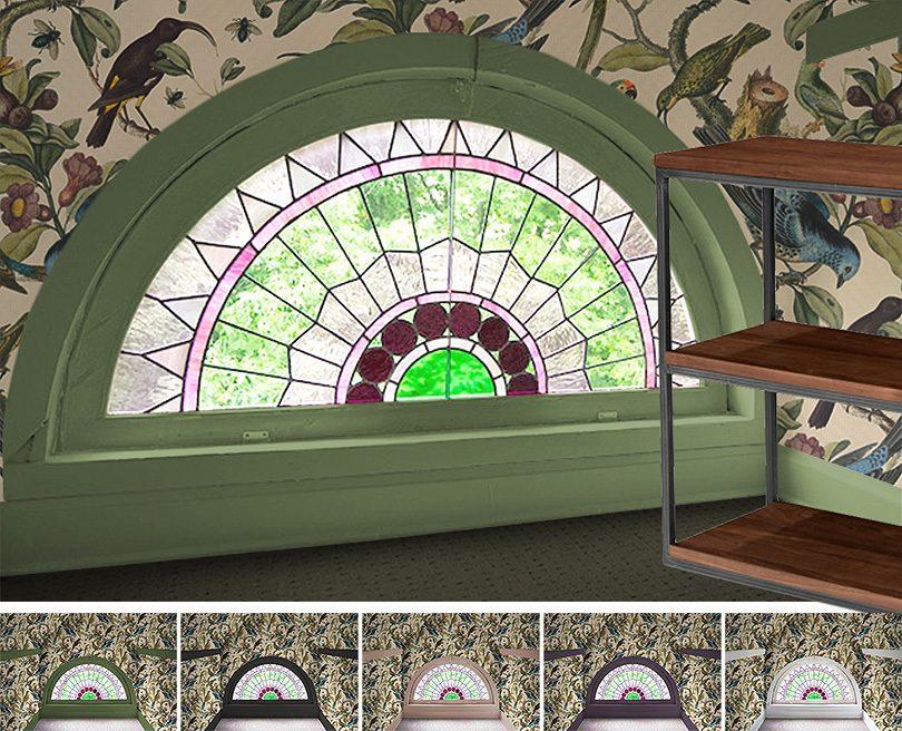 Rainbow Window Mockups   Making it Lovely, One Room Challenge