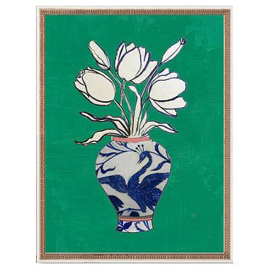 Flowers in Vase by Ruti Shaashua, ArtfullyWalls