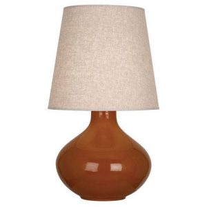 June Cinnamon Table Lamp, Robert Abbey