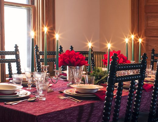 Holiday Tabletop with Ballard Designs | Making it Lovely