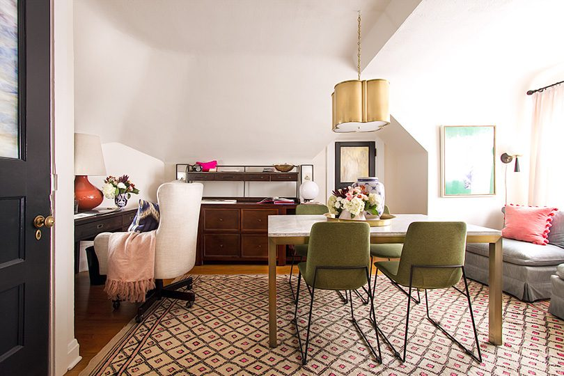 Making it Lovely's Home Office Makeover for the One Room Challenge