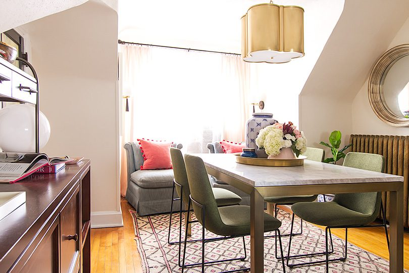 Wide Angle, Making it Lovely's Home Office   One Room Challenge