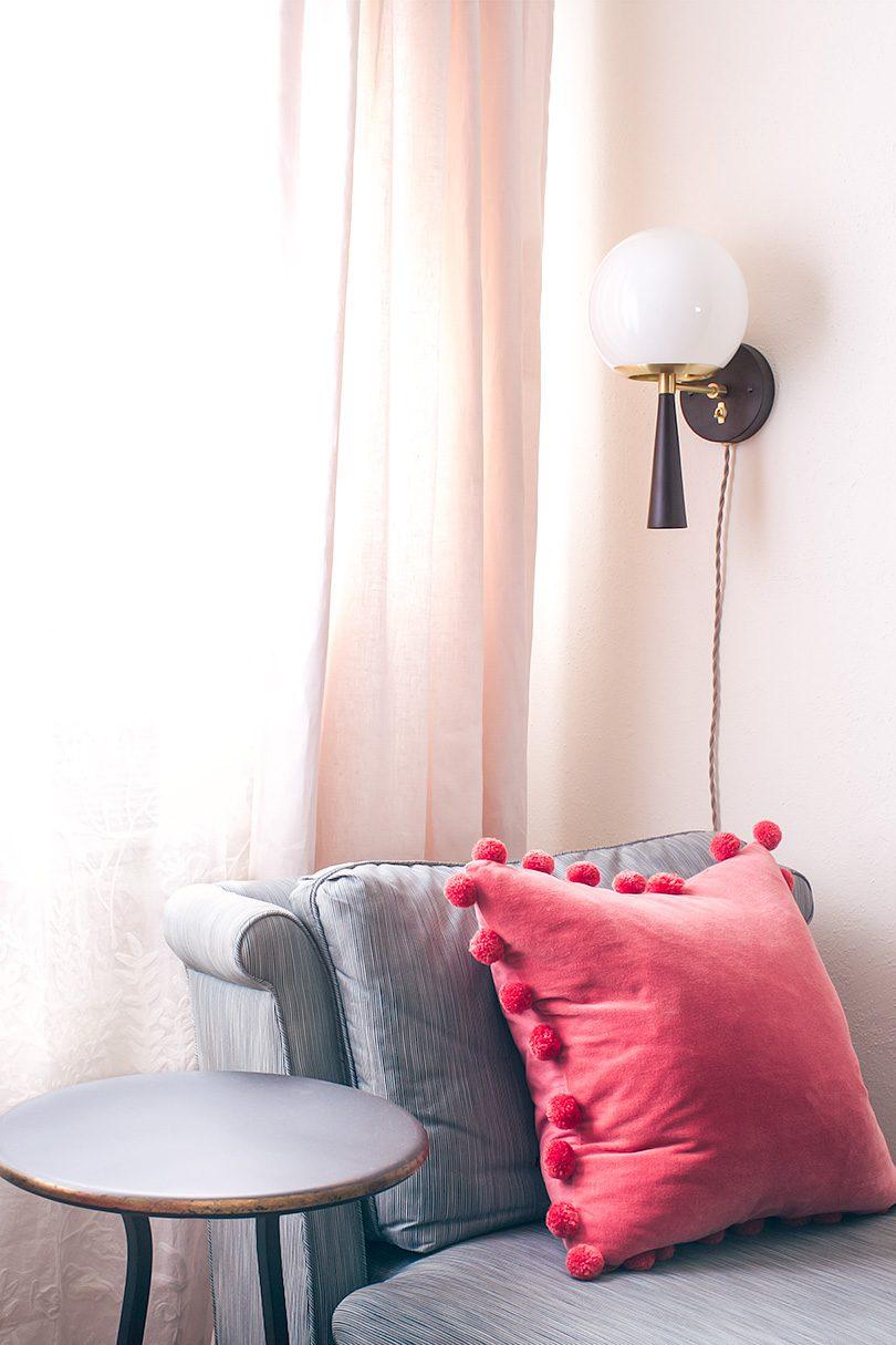 Cedar & Moss Sconce   Making it Lovely's Office, One Room Challenge