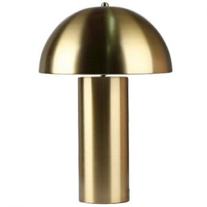 Threshold Target Brass Mushroom Table Lamp