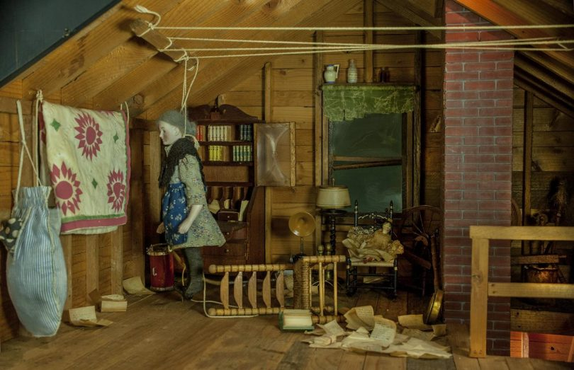 Frances Glessner Lee and The Nutshell Studies of Unexplained Death - attic