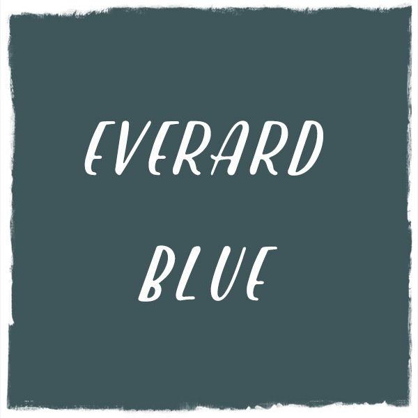 Paint Color: Everard Blue, Benjamin Moore