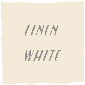 Paint Color: Linen White, Benjamin Moore