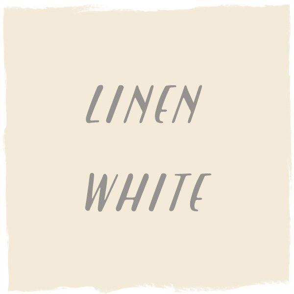 Paint Color: Linen White, Benjamin Moore