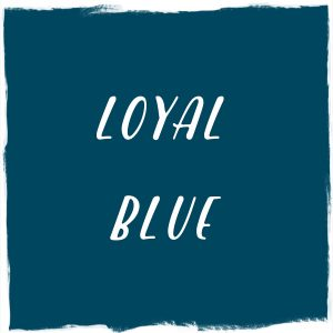 Paint Color: Loyal Blue, Sherwin-Williams
