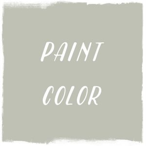 Paint Color: Frosted Olive, Dutch Boy