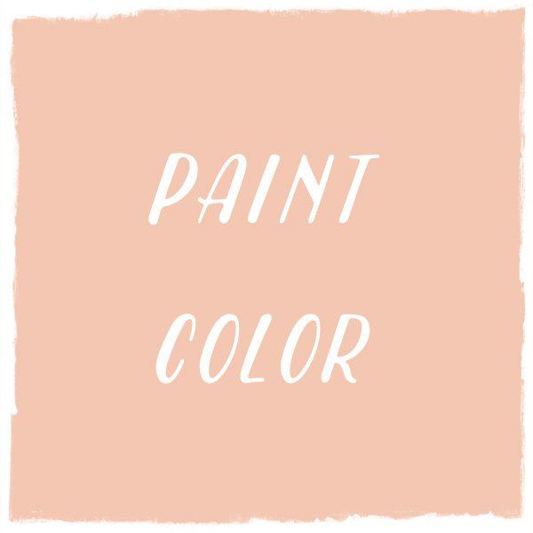 Paint Color: Peachy-Keen, Dutch Boy