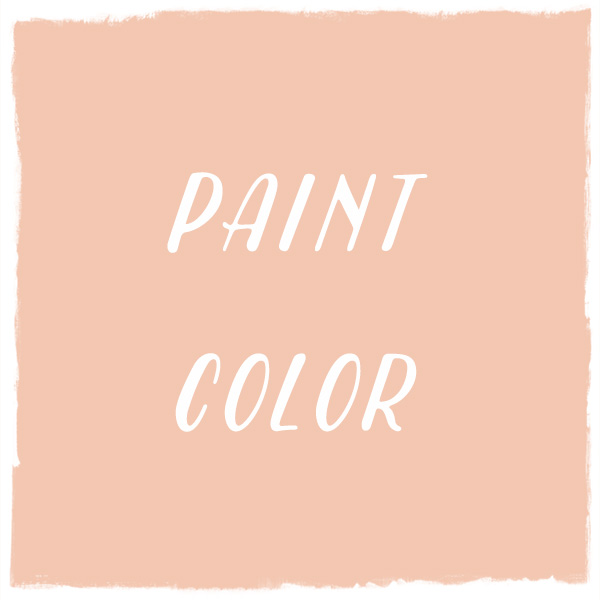 Paint Color: Peachy-Keen, Dutch Boy