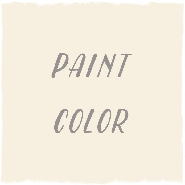 Paint Color: White Blush, Benjamin Moore
