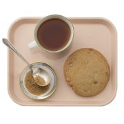 Pink 1-Compartment Cafeteria Tray, Schoolhouse Electric