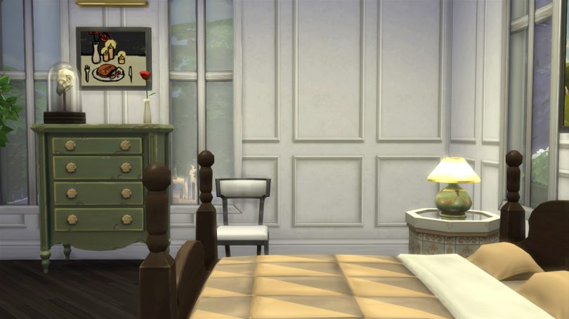 Master Bedroom — Sims 4 Pink Victorian House, Making it Lovely