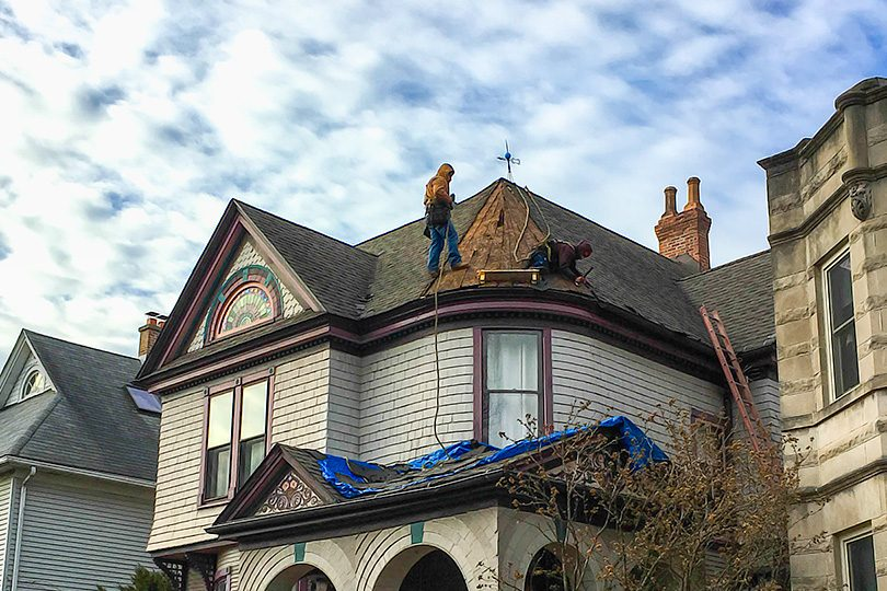 Patching the Roof on a Leaky Victorian Turret