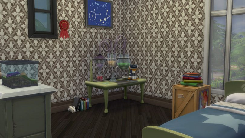 Kid's Bedroom — Sims 4 Pink Victorian House, Making it Lovely