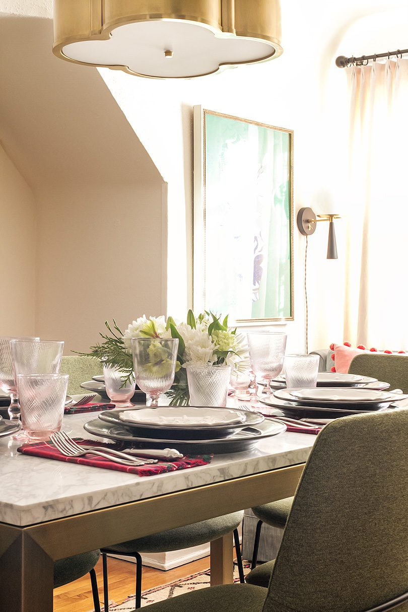 Christmas Tabletop with Pieces by Juliska from CarefulPeach   Making it Lovely
