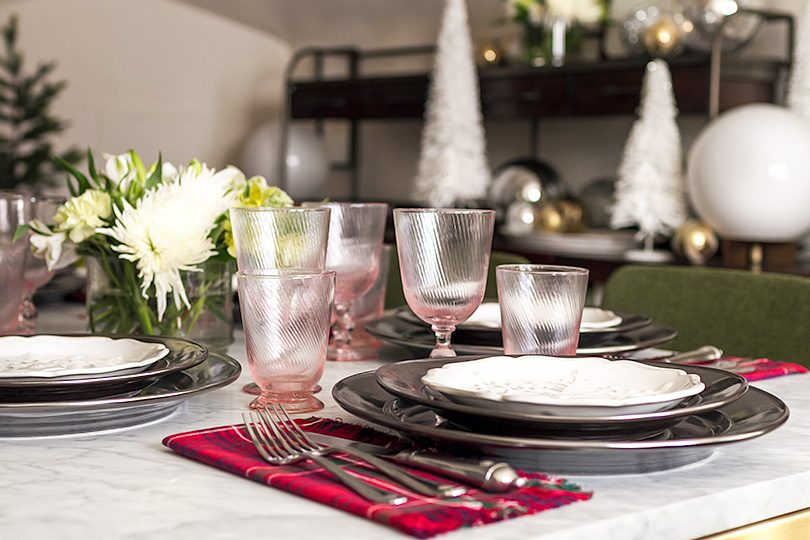 Christmas Place Settings from CarefulPeach and Juliska | Making it Lovely