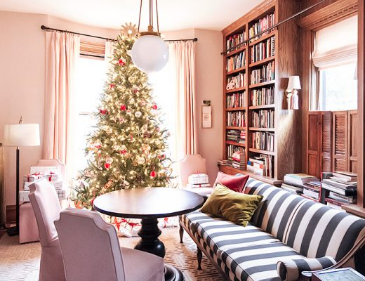 Christmas in the Lovely Victorian Library   Making it Lovely