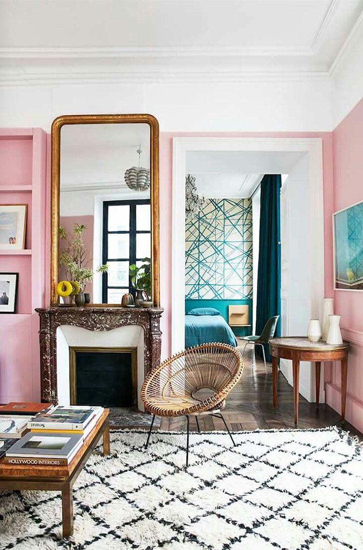 Pink Paris Apartment