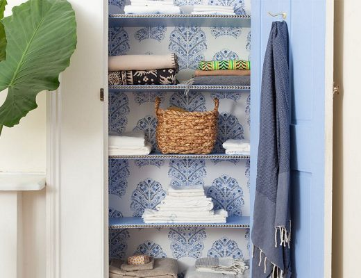 Megan Pflug Linen Closet Makeover for One Kings Lane, Photo by Lesley Unruh