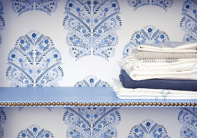 Detail from Megan Pflug Linen Closet Makeover for One Kings Lane, Photo by Lesley Unruh