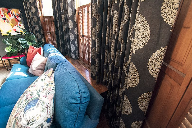 Curtains in a Bay Window with Radiator | Making it Lovely