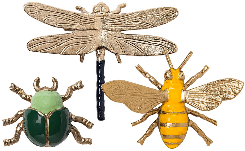 Beetle, Dragonfly, and Bee - Target Bugs