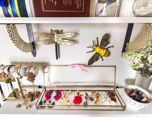 Statement Earrings, Bee and Dragonfly Figures | Making it Lovely