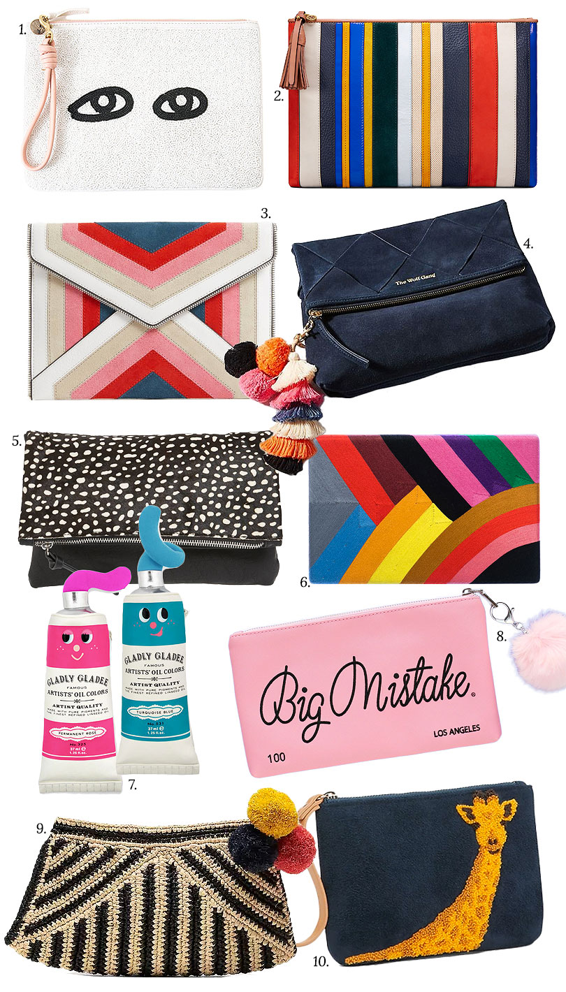 Cute Clutches and Pouches