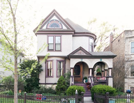 Making it Lovely's Queen Anne Victorian