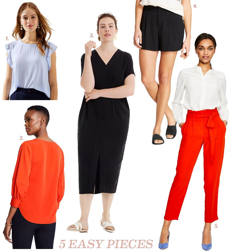 5 Easy Pieces - Wardrobe Basics
