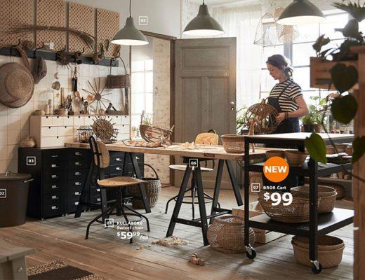 IKEA Bror Cart Kitchen Island