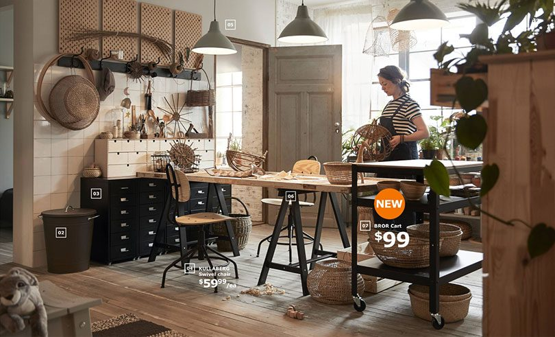 IKEA Bror Cart Kitchen Island