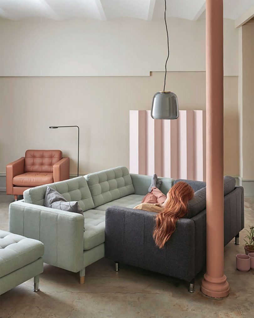 IKEA Landskrona - sofa, loveseat, sectional, and chair