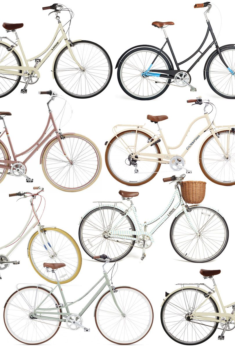 Cute Beach Cruisers and Dutch Bicycles - Linus, Brilliant Bikes, Public, Electra Townie and Loft | Making it Lovely