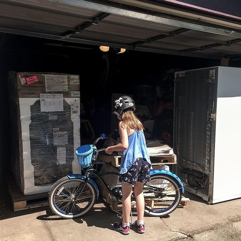 Temporarily Full Garage