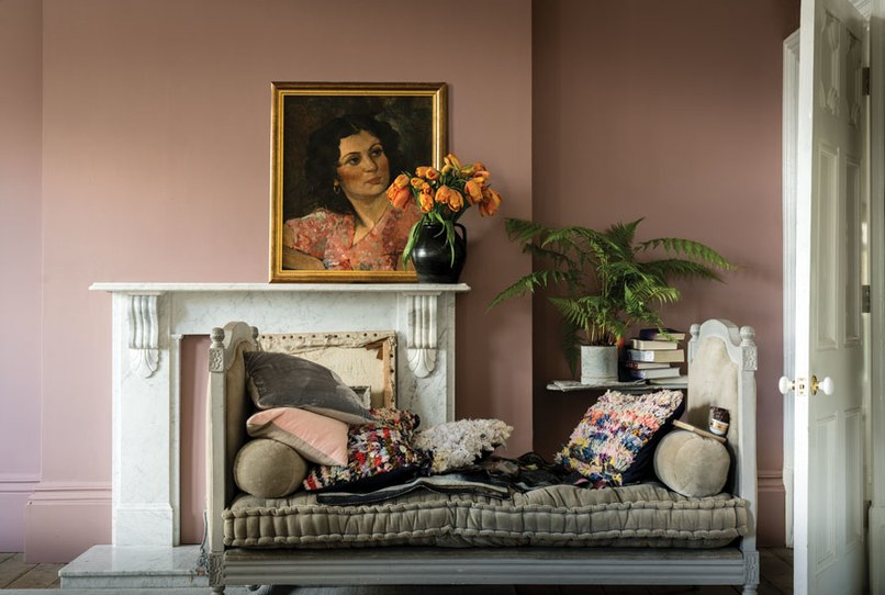 Farrow & Ball, Sulking Pink Paint