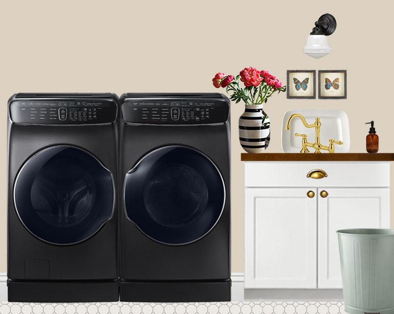 Laundry Elevation: Sink (Photoshop)
