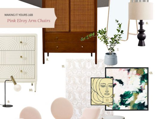 Making it Yours (MiY) 16B: Pink Elroy Chairs