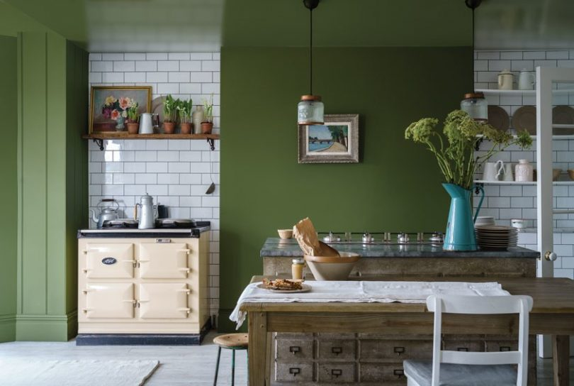 Farrow & Ball, Bancha Green