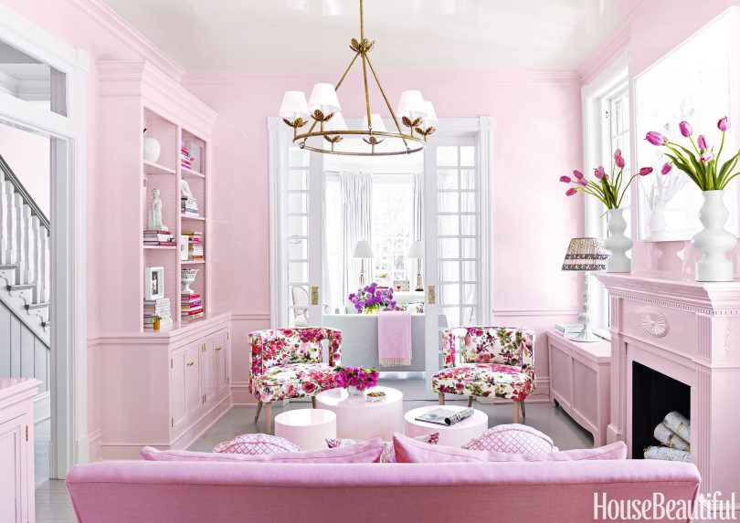 Pink Home of Katie Ukrop, Designed by Suellen Gregory